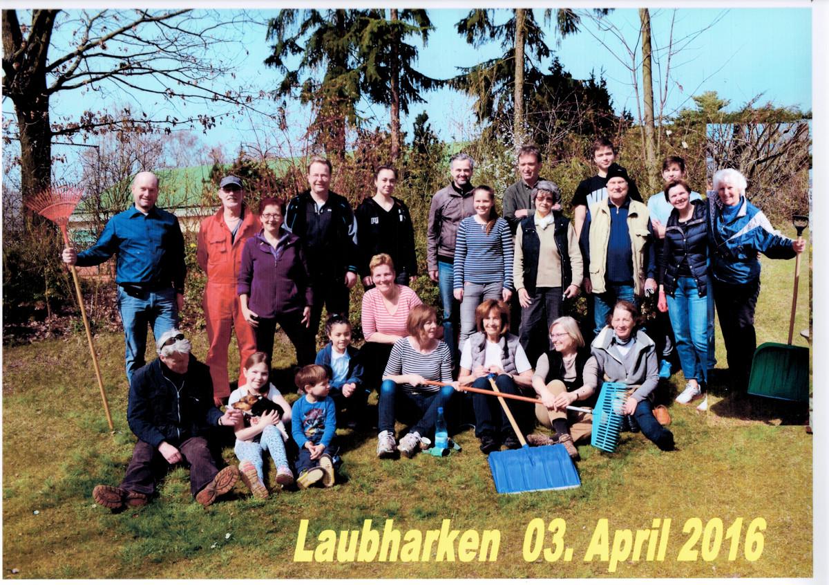 Laubaktion 2016